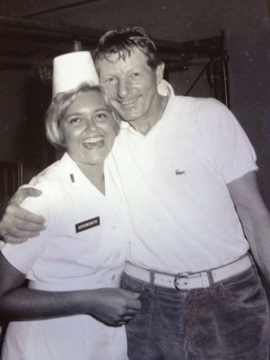 Lynn Arrowsmith with Danny Kaye
