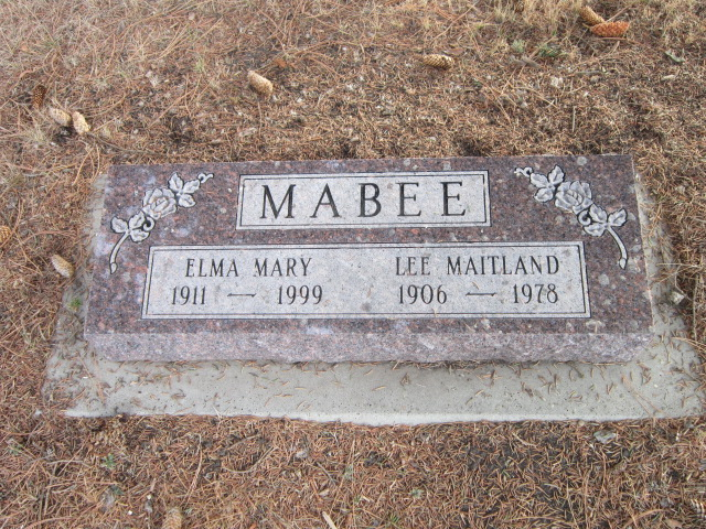Mabee's parents